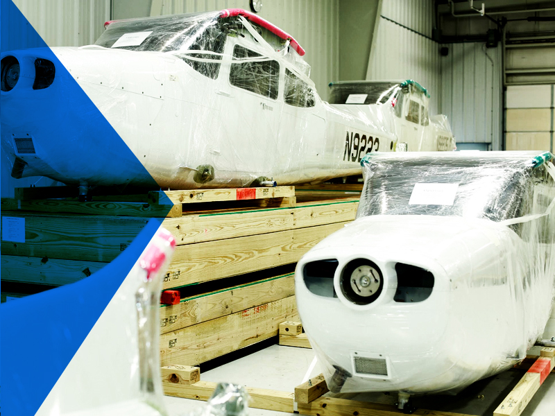 Aircraft Shipping and Containerization